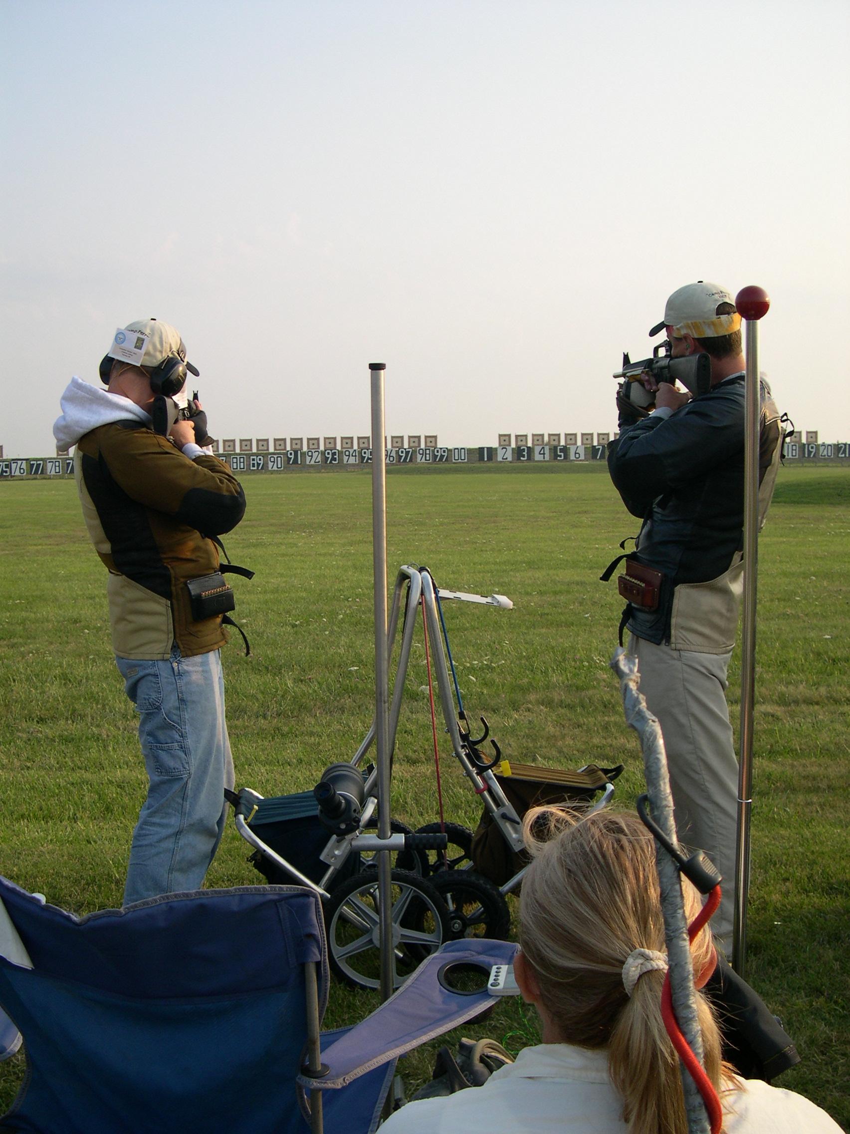 pair firing 2007 Team Match